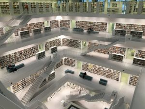 Tiered library